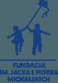 Logo fundacji im. Jacka i Piotra Michalskich.